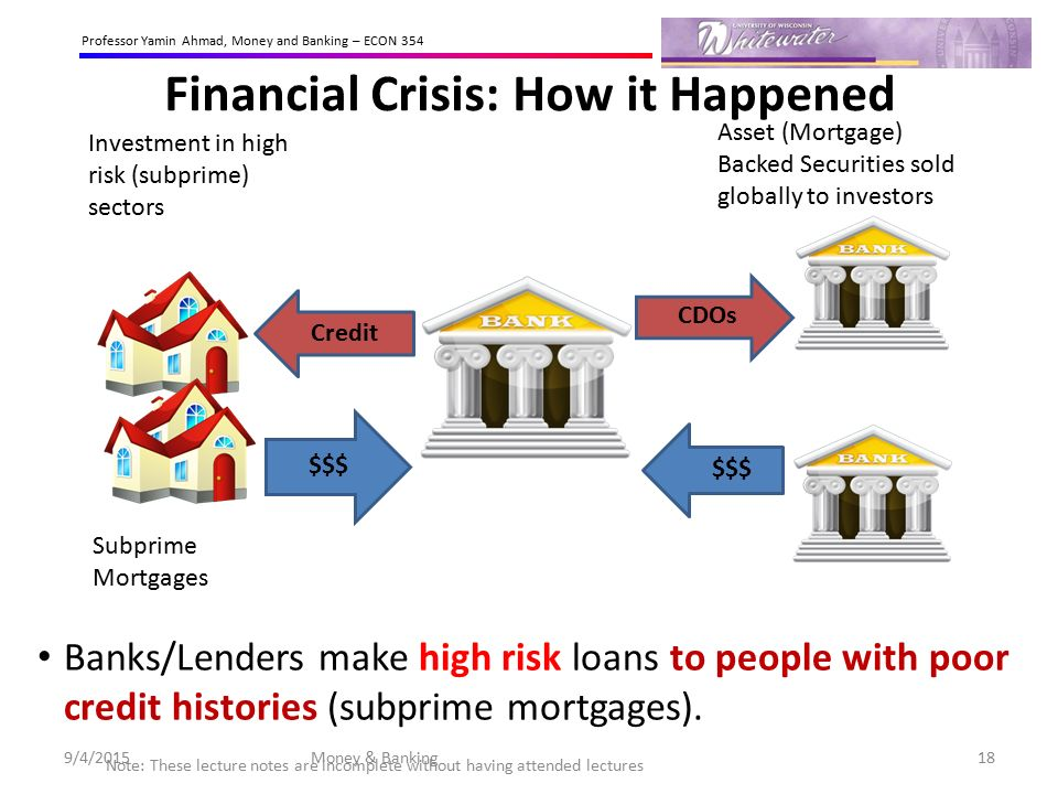 Image result for banks sell mortgages as loans to wall street great recession cdo